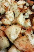 Rosemary oven roasted potatoes